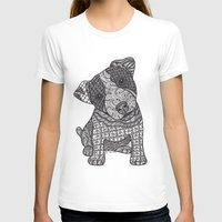 jack russell T-shirts featuring Jack Russell by DiAnne Ferrer