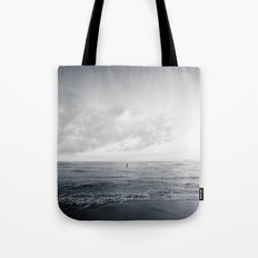 calm day ver.black Tote Bag