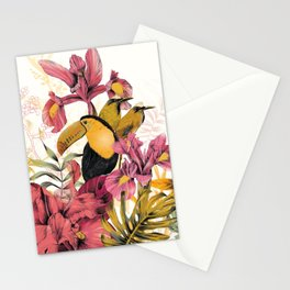 Tropical Garden Tucan Stationery Cards
