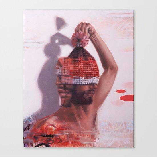 PLAY 1 / listen Canvas Print