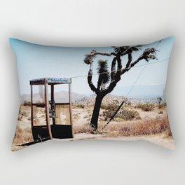 MOJAVE DESERT PHONE BOOTH Rectangular Pillow