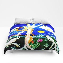 Cockatoos Australia                by Kay Lipton Comforters