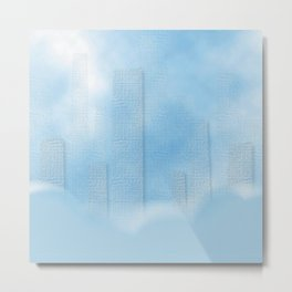 City in the Sky Metal Print