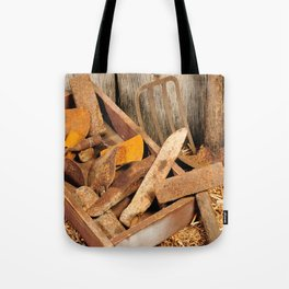 Rusted tools Tote Bag