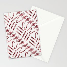Candy Cane Love Stationery Cards