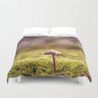 mushroom Duvet Covers featuring mushroom by anitaa