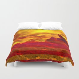 The Red Planet. Duvet Cover