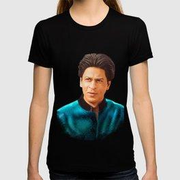 Shah Rukh Khan is a King of Bollywood, Digital Painting T-shirt