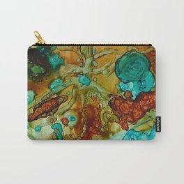 flora beginnings Abstract Carry-All Pouch