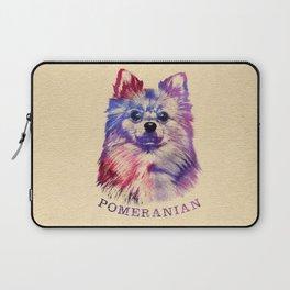 Cute Pomeranian German Spitz Laptop Sleeve