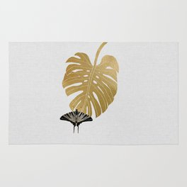 Butterfly & Monstera Rug