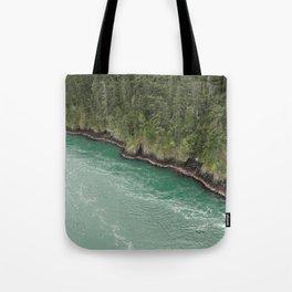 Water Meets Woods Tote Bag