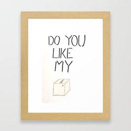 My Box Framed Art Print