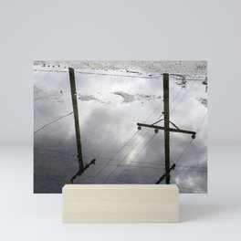Reflections on Perpendicular Lines Mini Art Print