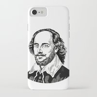 shakespeare iPhone & iPod Cases featuring Shakespeare by OnaVonVerdoux