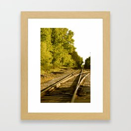 The paths we take.  Framed Art Print