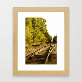 The paths we take.  Framed Art Print