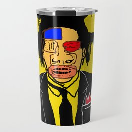 Jean Michelle Basquiat Travel Mug