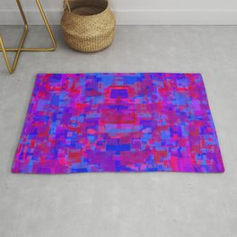 yet another face emerging Rug