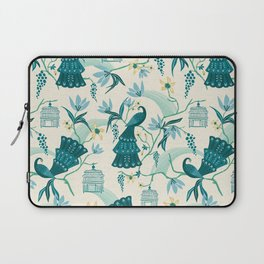 Aviary - Cream Laptop Sleeve