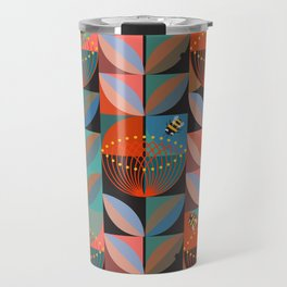 Electric Pohutukawa Travel Mug