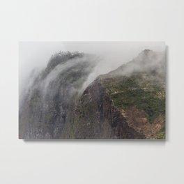 Madeira Fog Metal Print