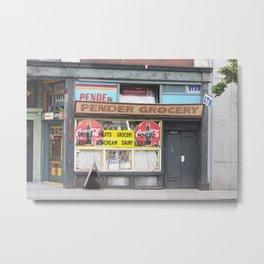 Pender Grocery Metal Print