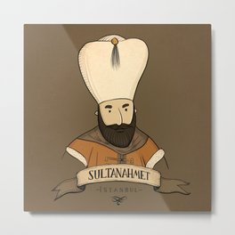 Sultanahmet, Istanbul Metal Print