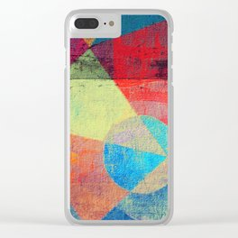 Beach Volleyball Clear iPhone Case