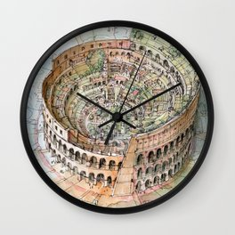 The Colosseo City Wall Clock