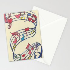 Lovely Melody Stationery Cards