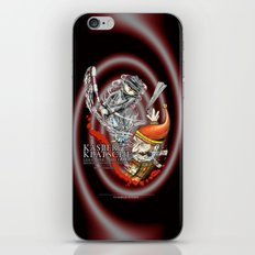 Kasperklatsche iPhone & iPod Skin