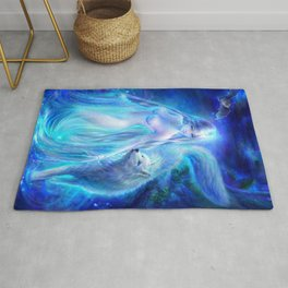 {Seven Sins-Pride} Lady of the Lake Rug