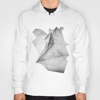 triangle Hoodies featuring triangle by Katekima