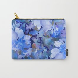 Wild Blue Rose Garden Carry-All Pouch