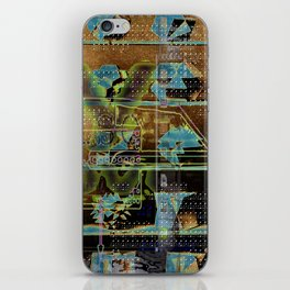 Glitch Cabinet iPhone Skin