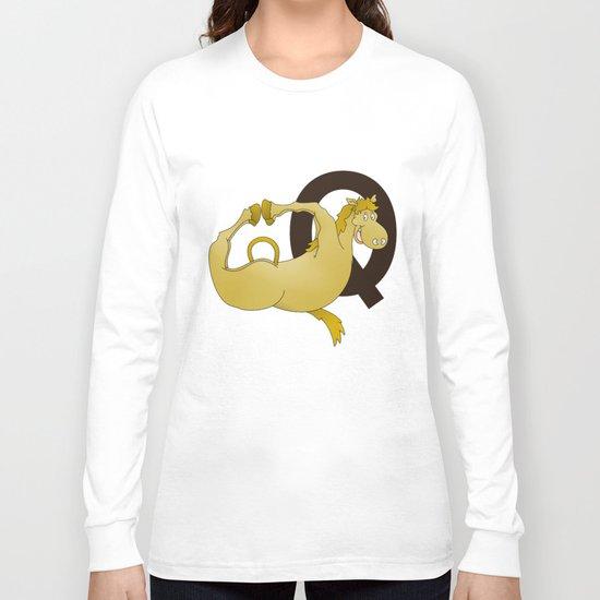 Monogram Q Pony Long Sleeve T-shirt
