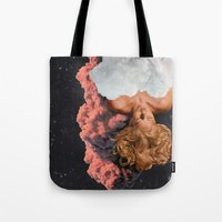 dreamer Tote Bags featuring DREAMER by Beth Hoeckel