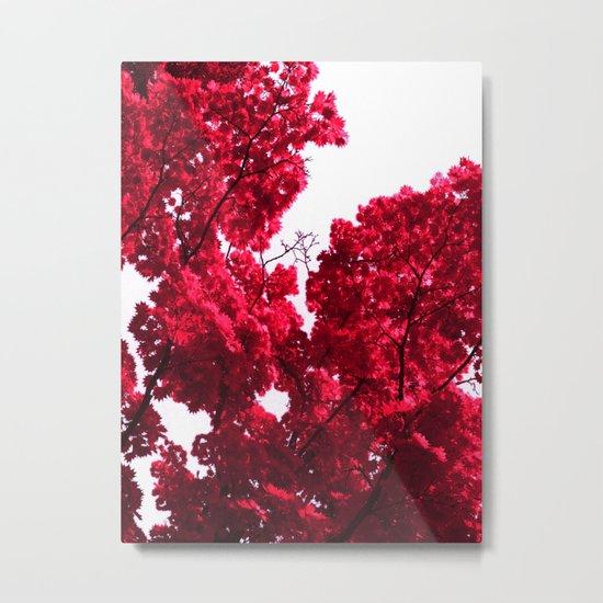 red tree V Metal Print