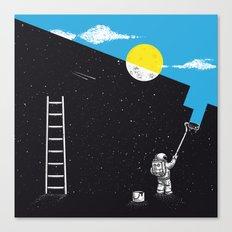 Night Painter Canvas Print