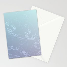 Surreal Flowers Stationery Cards