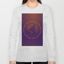 Around the world Long Sleeve T-shirt