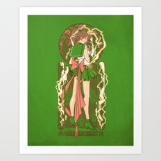 Before the Storm - Sailor Jupiter nouveau Art Print