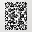 Tiki Totem by eileenflemingpatterndesign