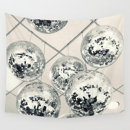 Disco Ball Wall Tapestry