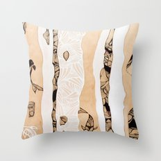 Islands In The Stream Throw Pillow