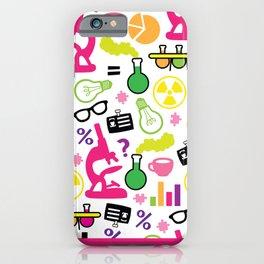 Neon Scientist iPhone Case