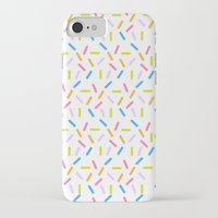 sprinkles iPhone & iPod Cases featuring Sprinkles by Vera Mota
