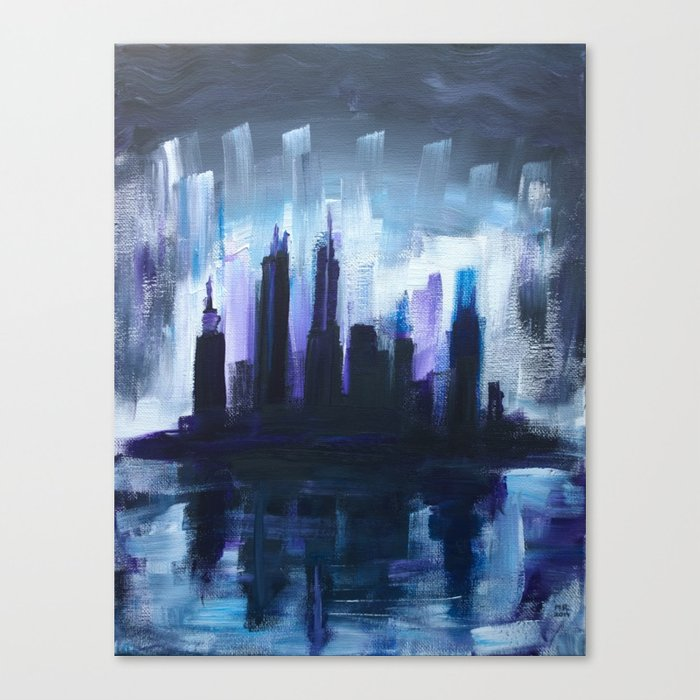 Gloom Canvas Print