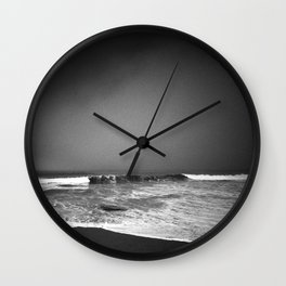 The Pacific Shore Wall Clock